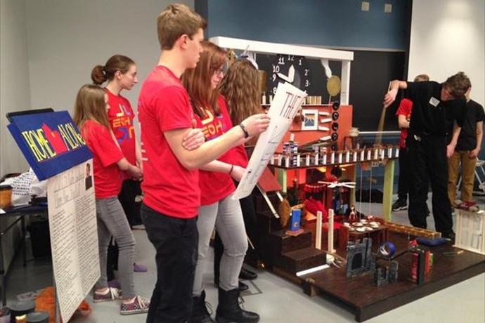 Rube Goldberg machine_5705217266262887806