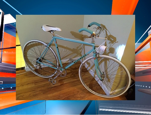 stolen blue bike