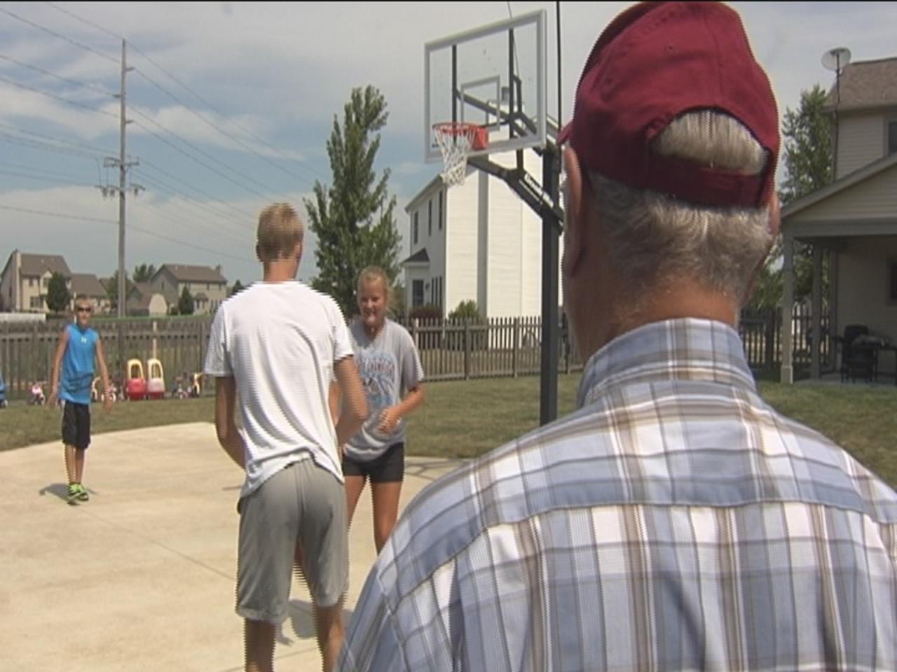 Trimble family basketball