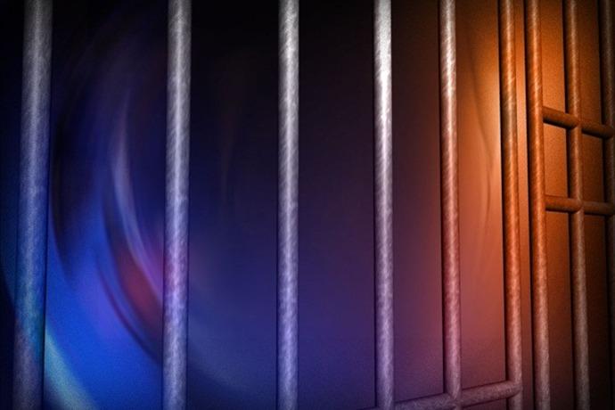 jail prison inmate bars police custody