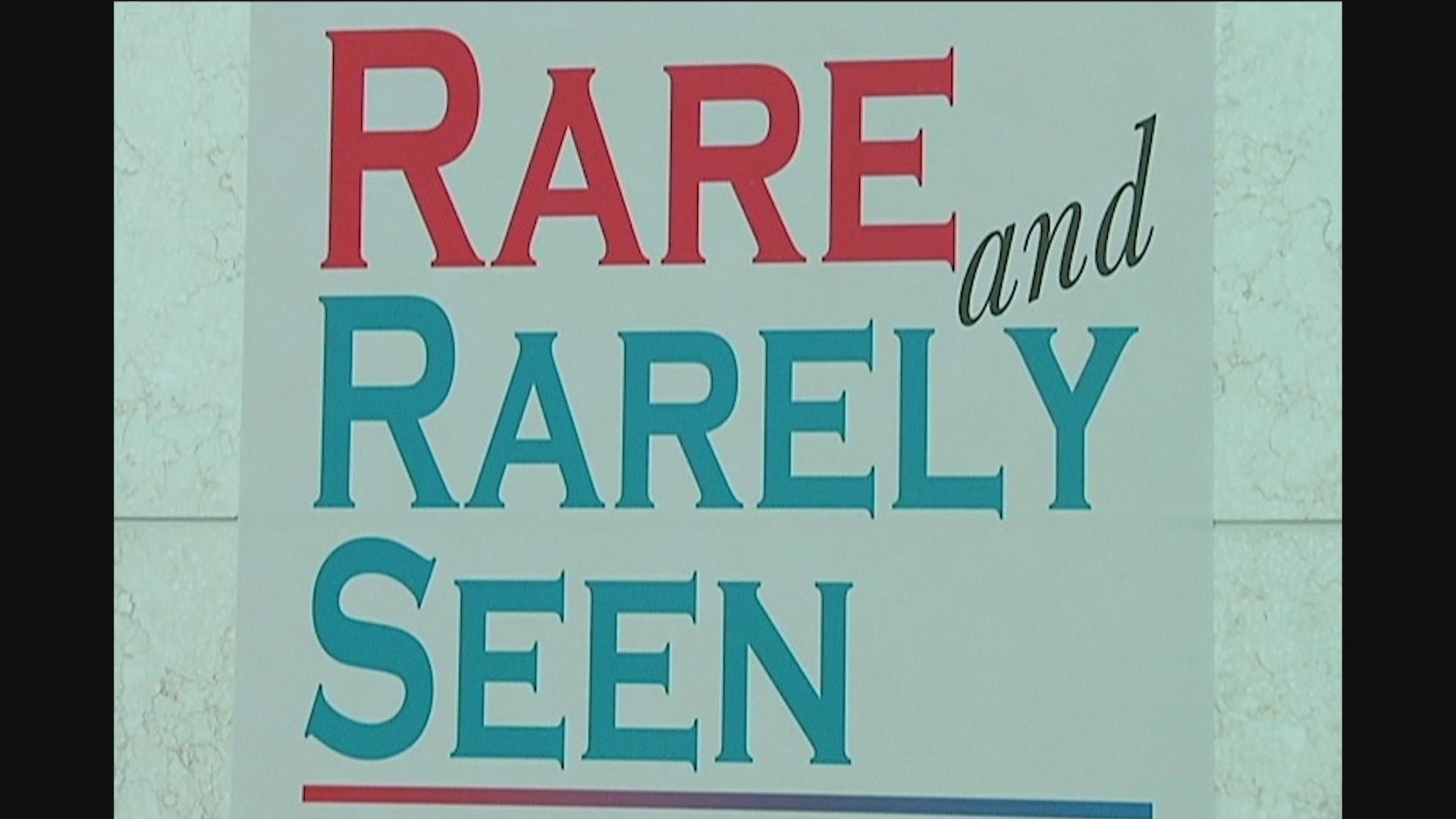 rare & rarely seen