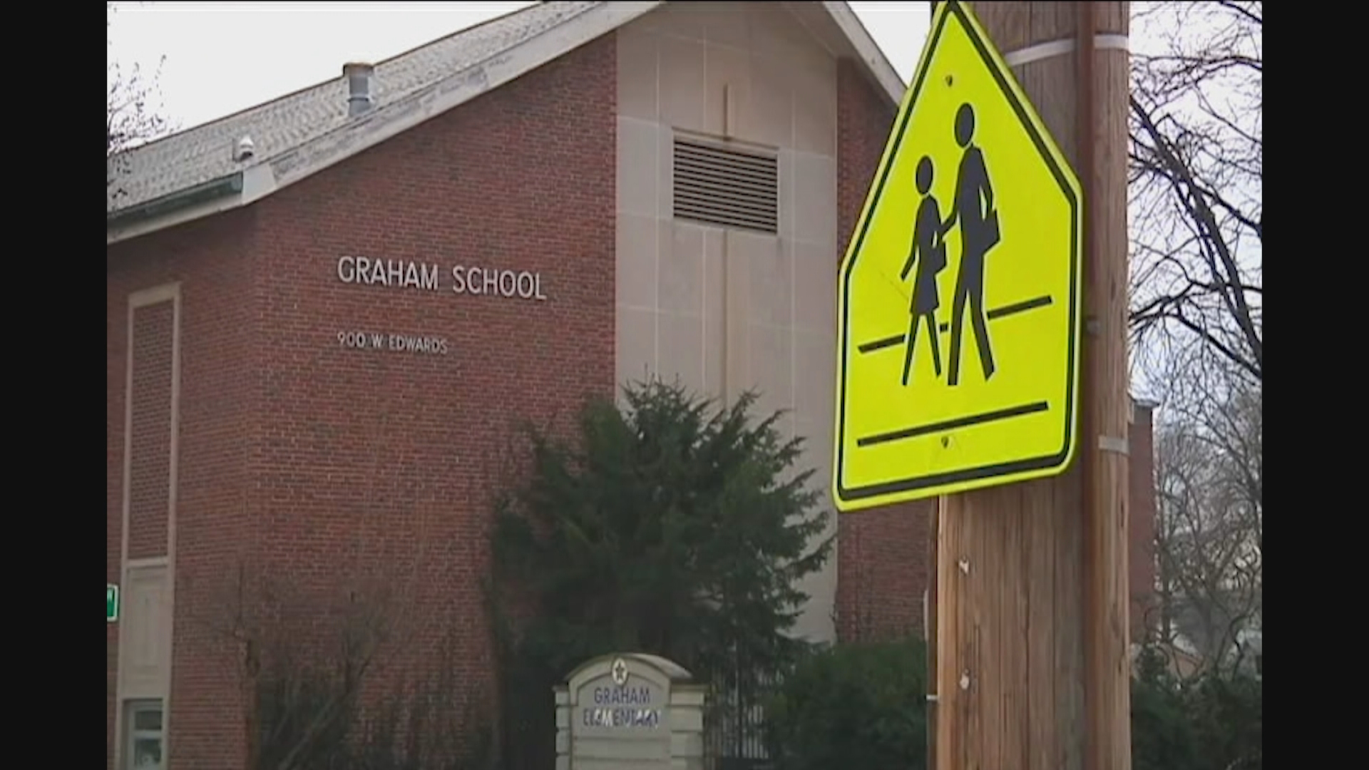 walk to school zone crossing