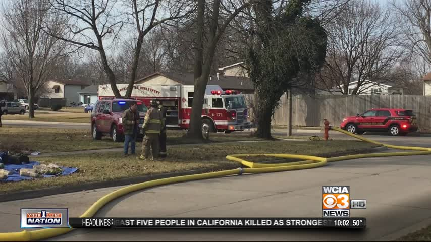 champaign house fire