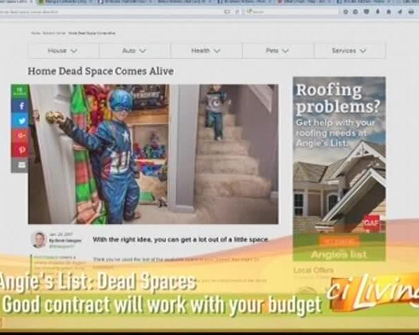Angie's List: What To Do With Dead Space In Your Home