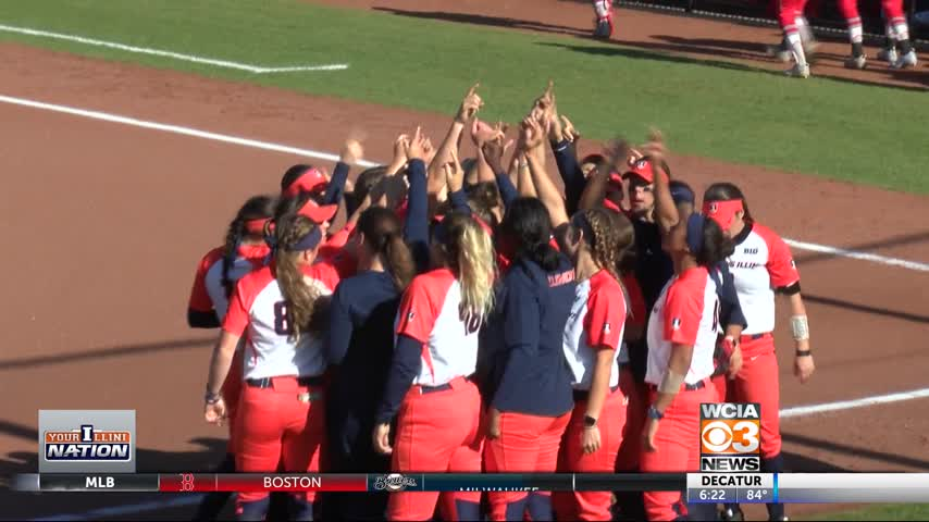 Illinois softball falls out of rankings- -staying positive-_25900823