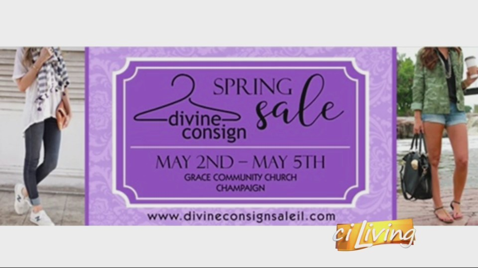 We're learning about a ladies' consignment sale happening in your community.