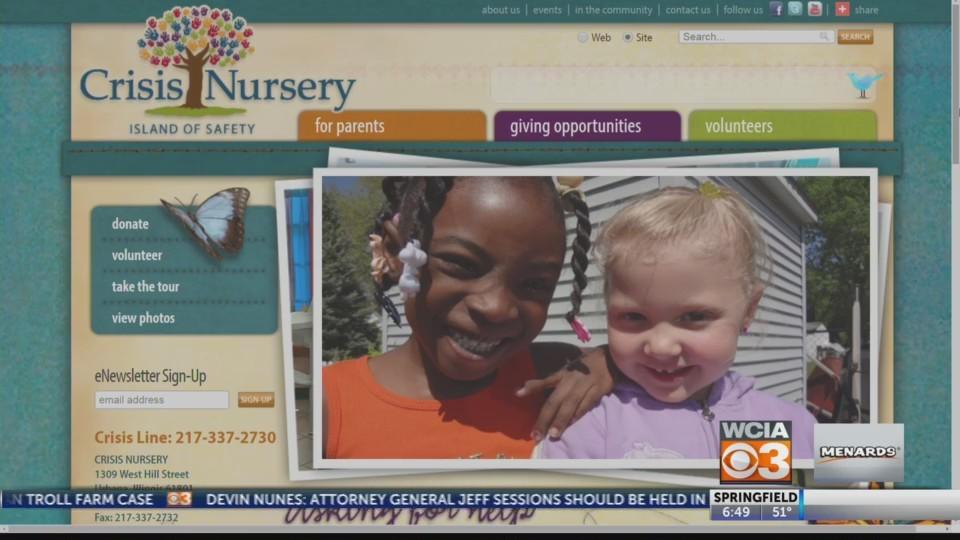 Giving Back: Crisis Nursery Safe Children Program