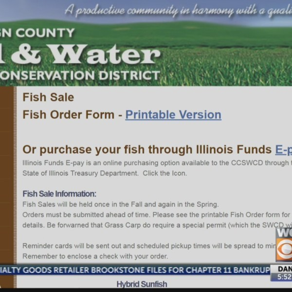Ag Answers: Pond Control & Fish Sale
