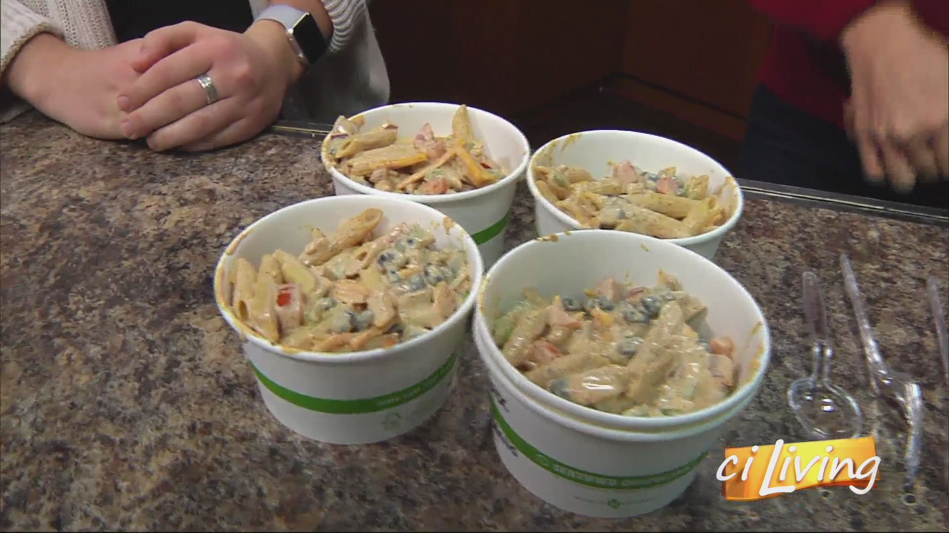 Southwester Pasta Salad from the Bevier Cafe