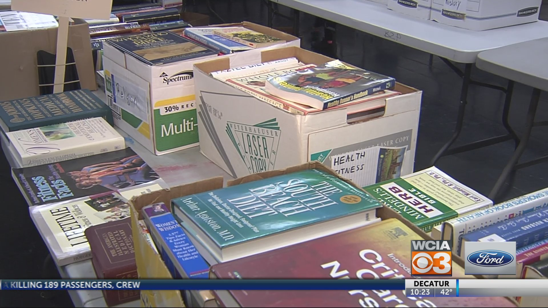 Books Sale Planned to help prisoners