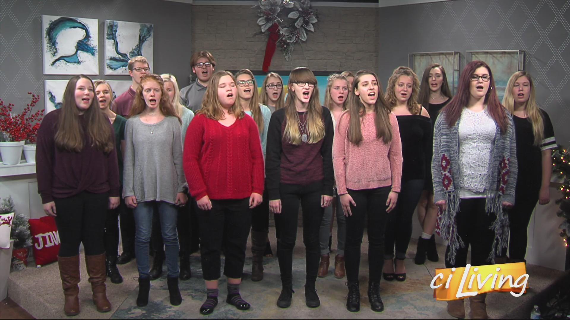 CI Living St Joseph Ogden High School Choir Performance 3