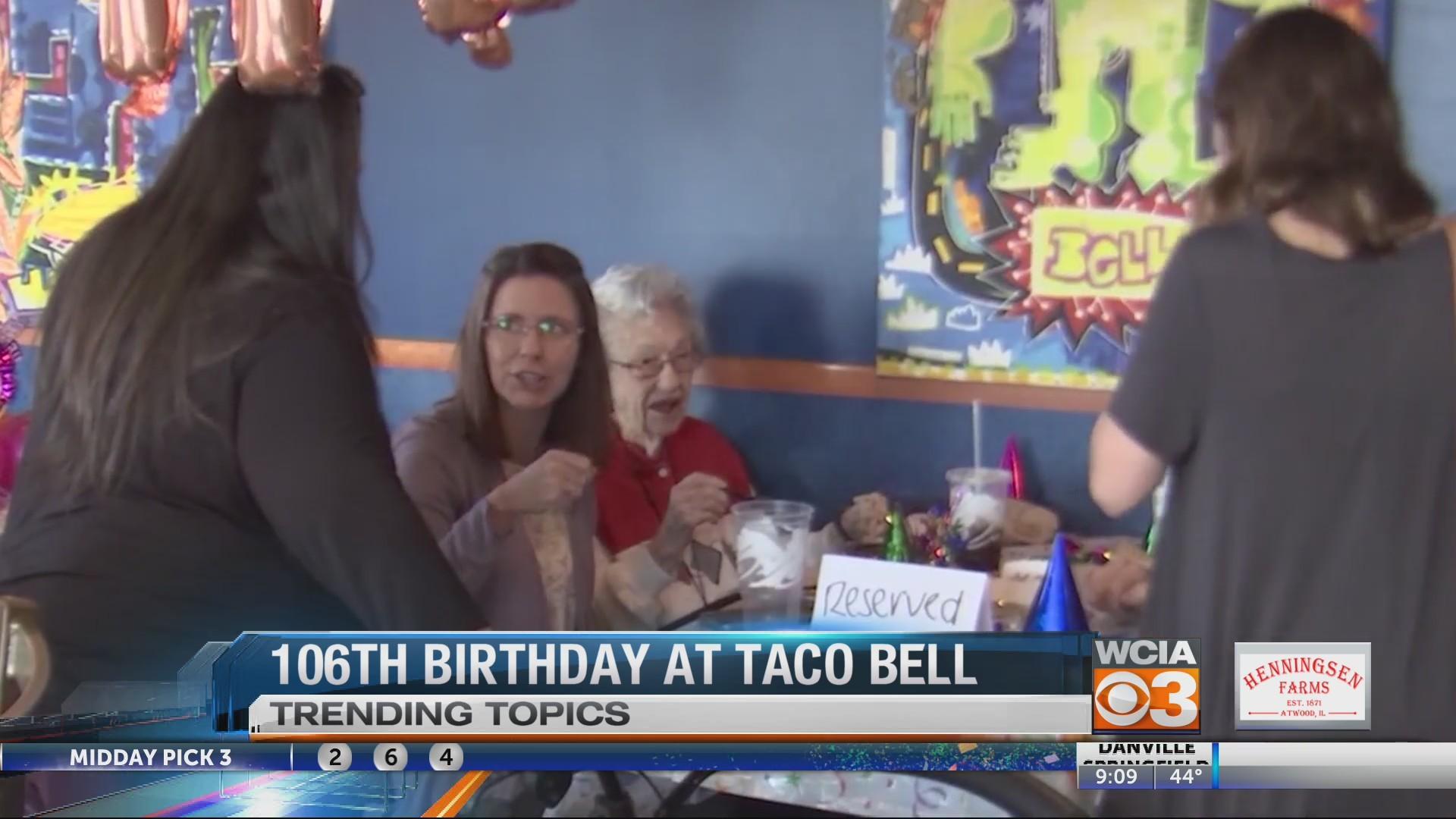 Taco bell birthday