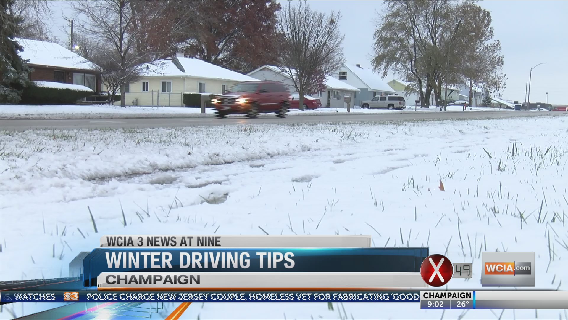 Experts give winter weather driving tips