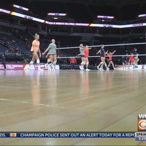 Illini Volleyball holds first practice in Minnesota