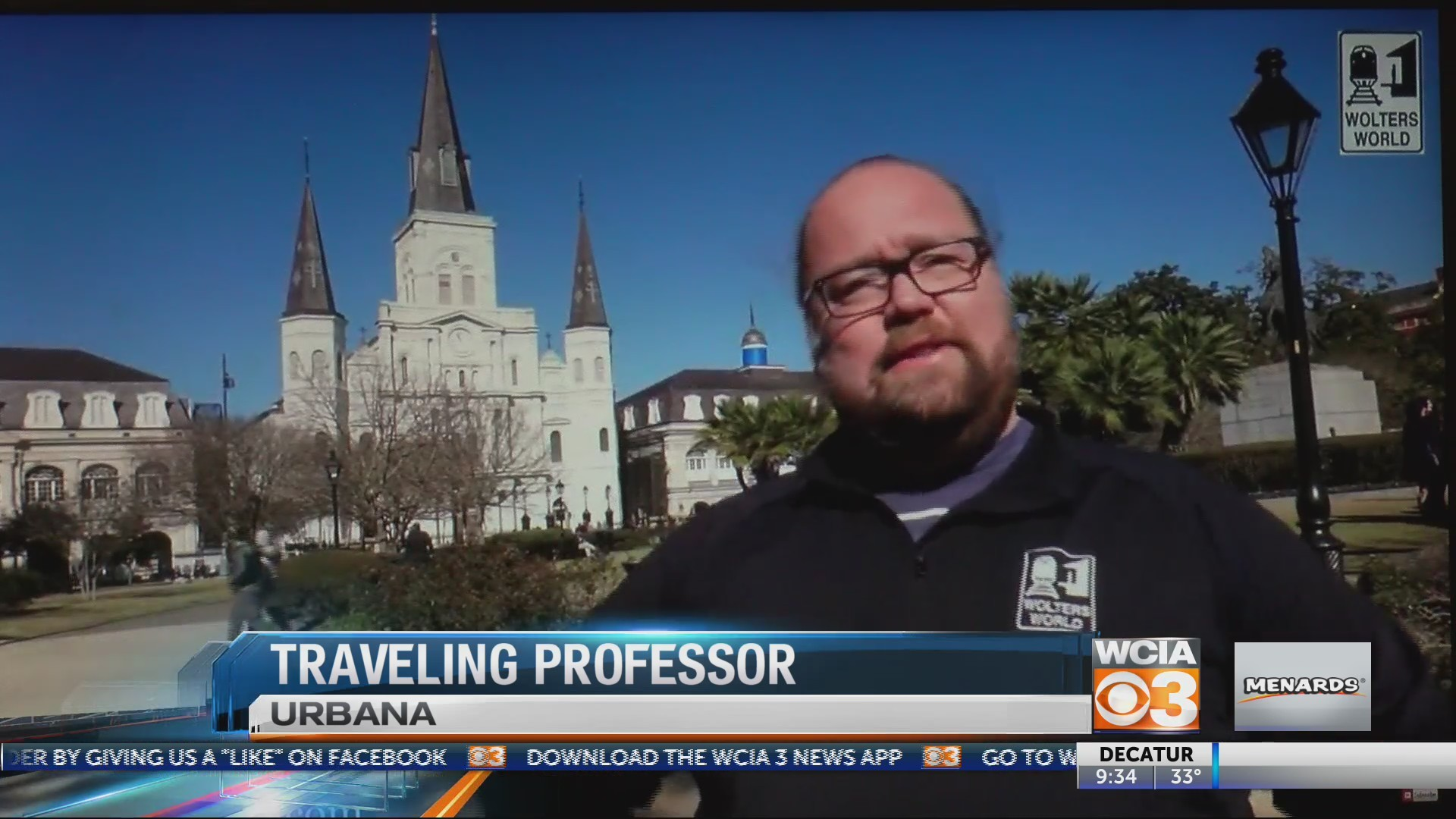 Traveling professor