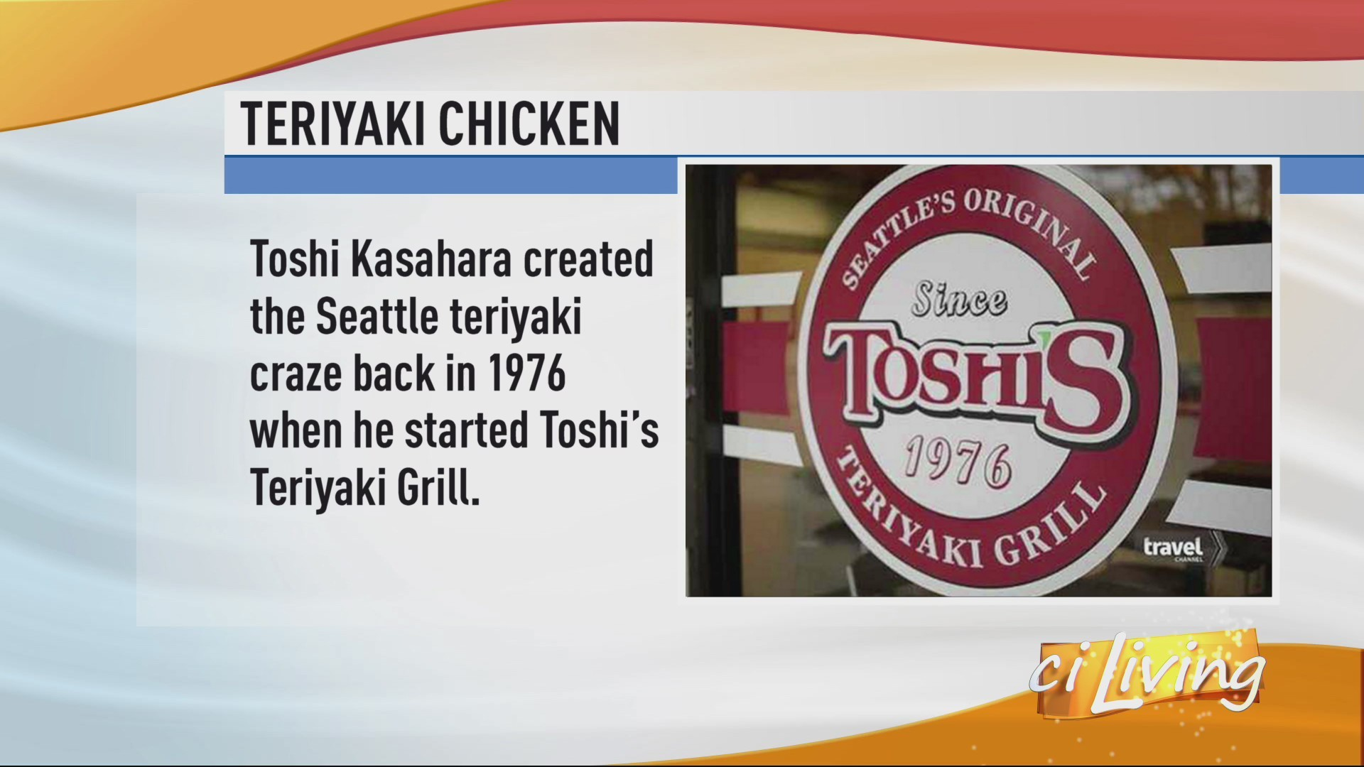 History of Teriyaki Chicken