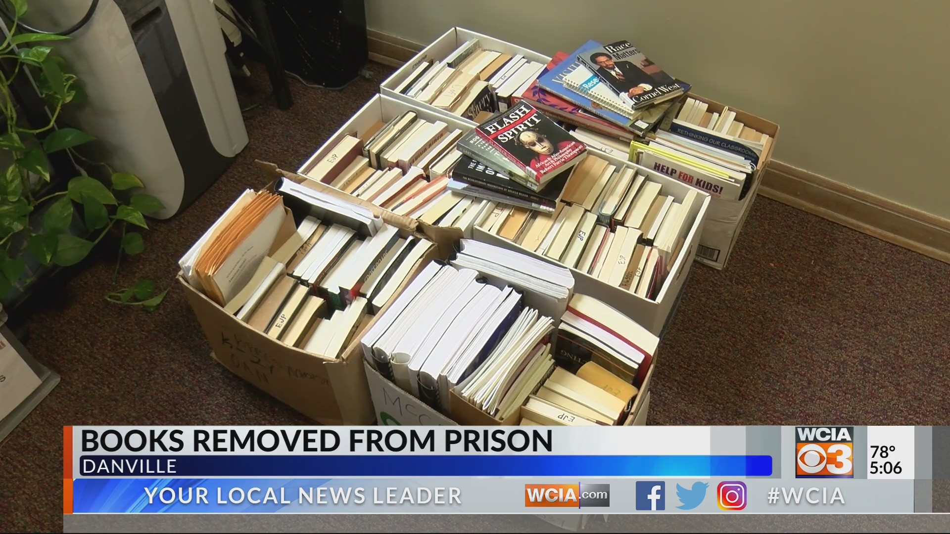 More than 200 books removed from prison