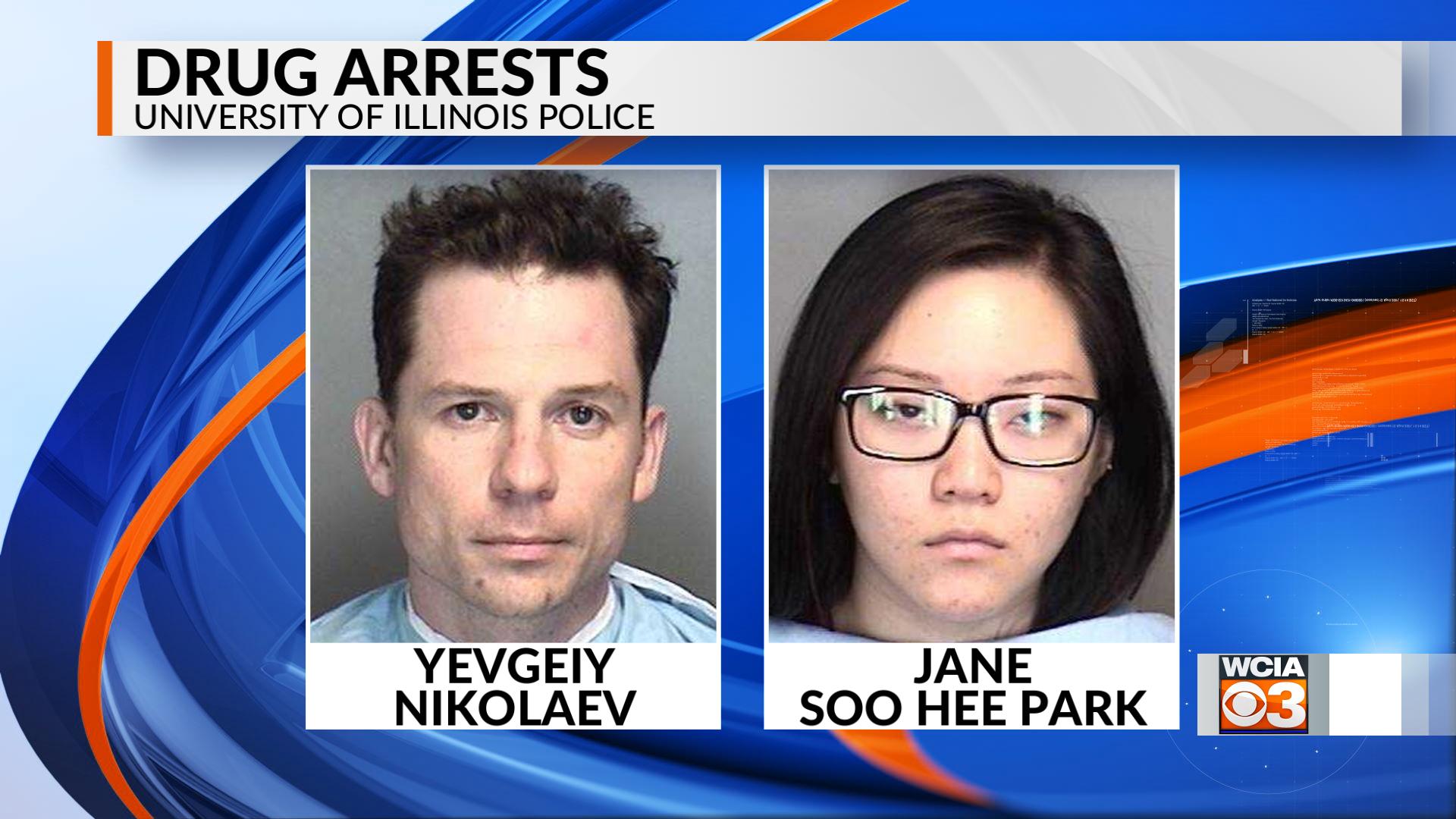 2 arrested on drug charges