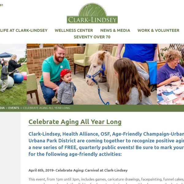 Clark-Lindsey Aging Website