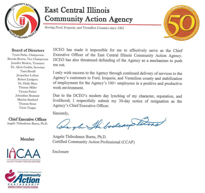 CEO resigns from charity | WCIA com