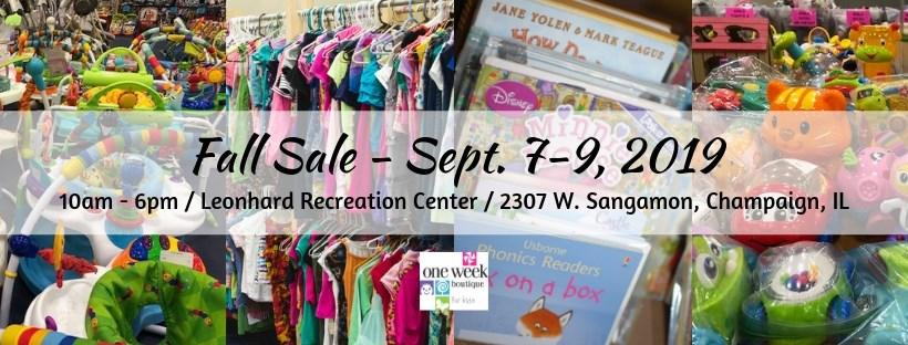 One Week Boutique Fall Sale 2019 | WCIA com