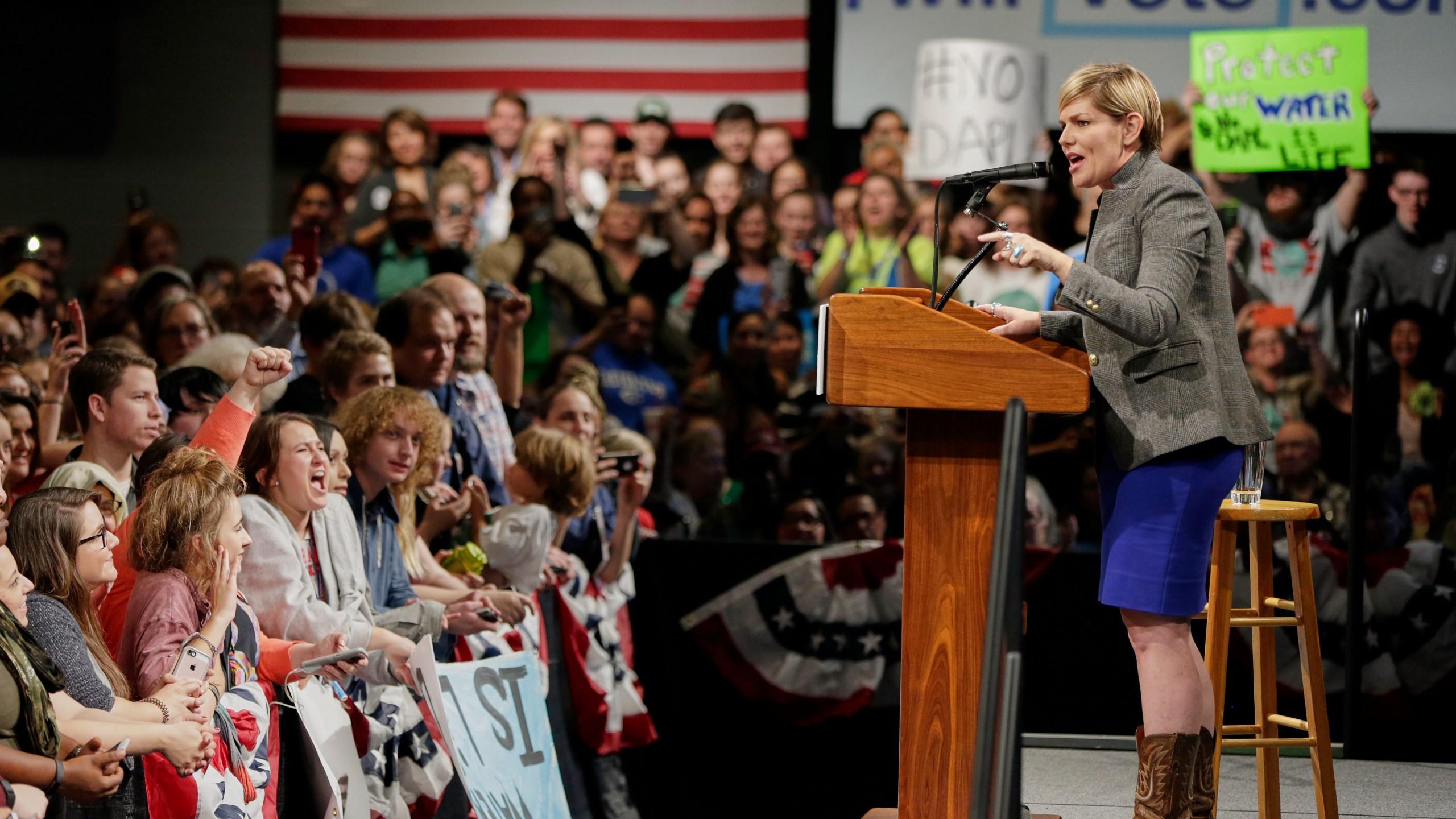 Jane Kleeb, Bernie Sanders