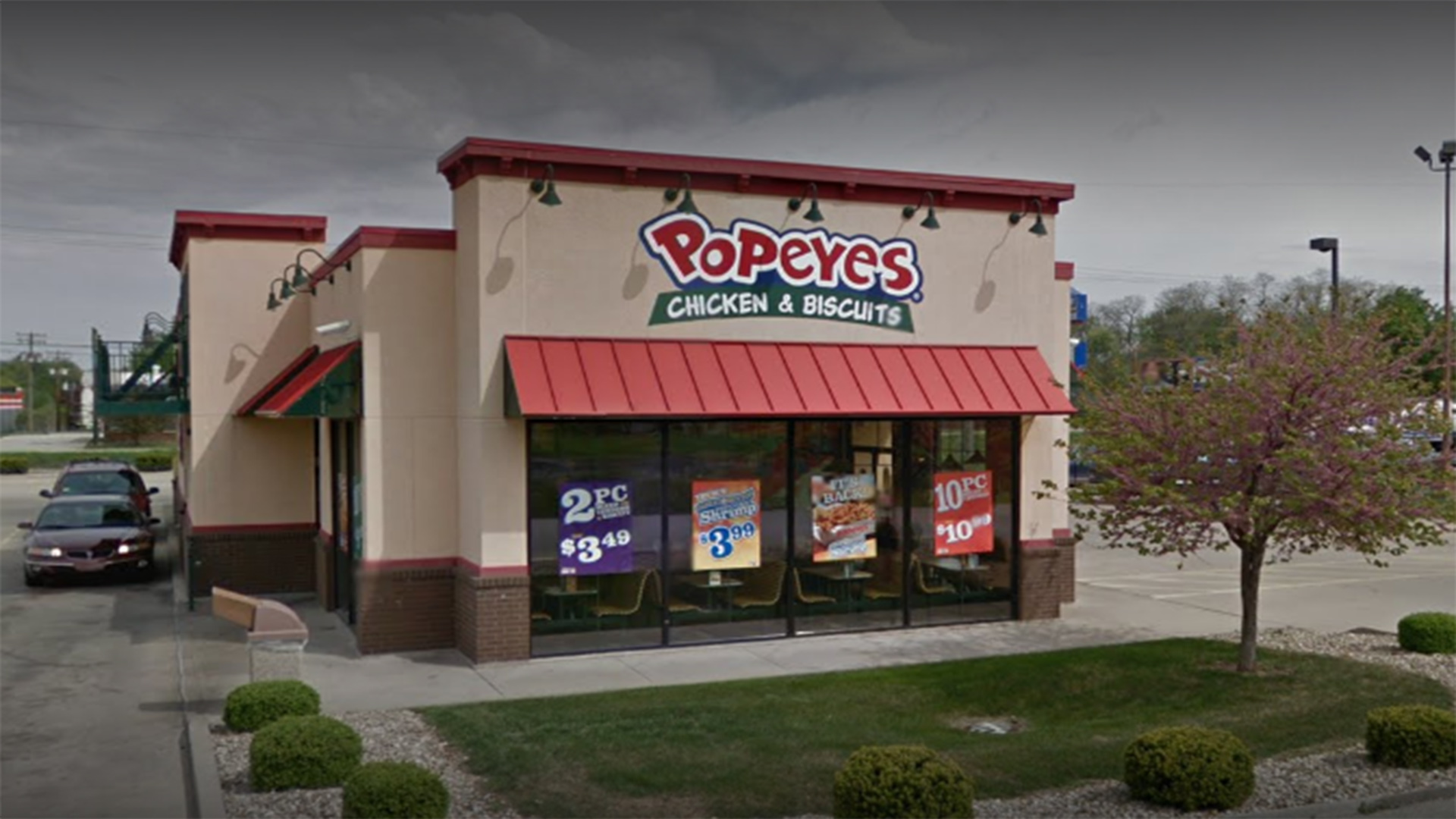 sex in popeyes restaurant