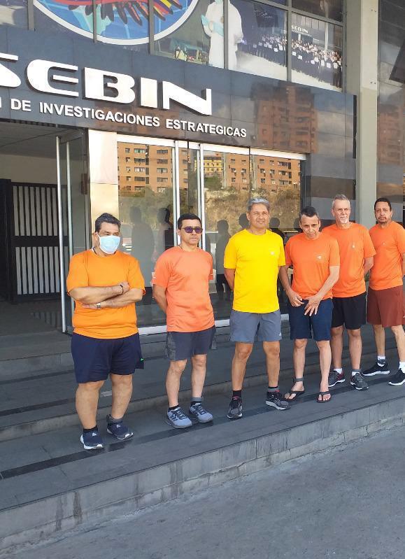 Jose Angel Pereira, Gustavo Cardenas, Jorge Toledo, Jose Luis Zambrano, Tomeu Vadell, Alirio Jose Zambrano,