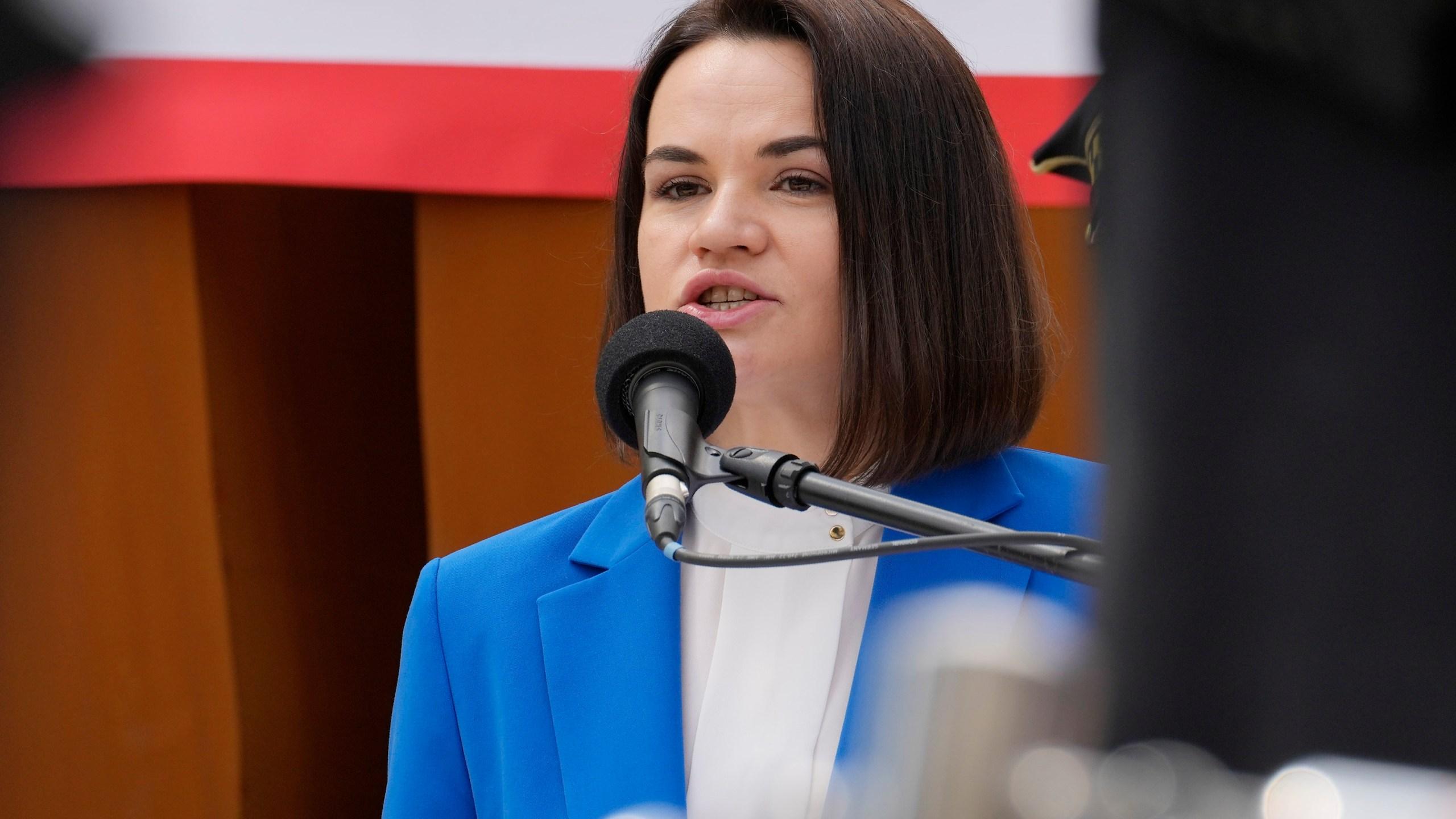 Sviatlana Tsikhanouskaya
